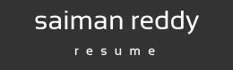 Saiman Reddy - Resume